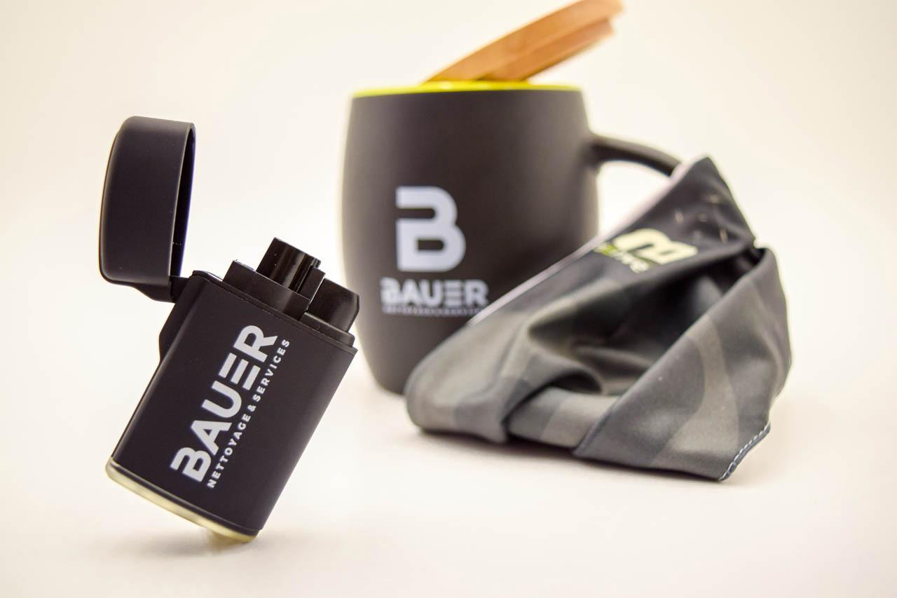 Objets publicitaires Bauer