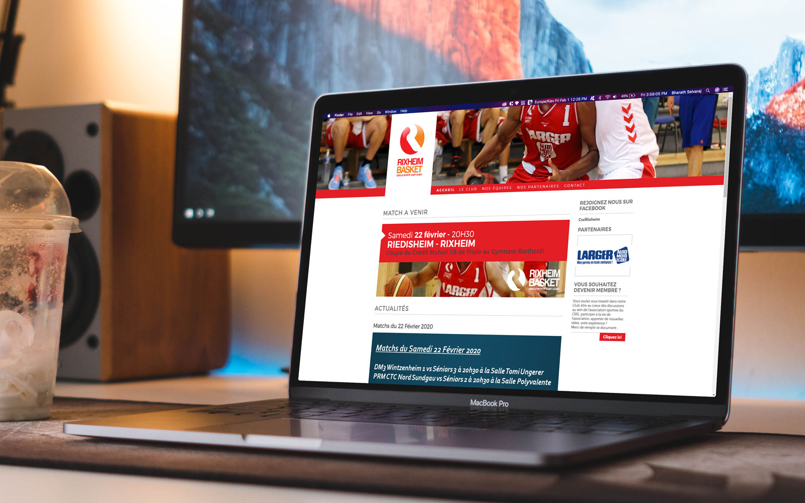 Site Web du CSSL Rixheim