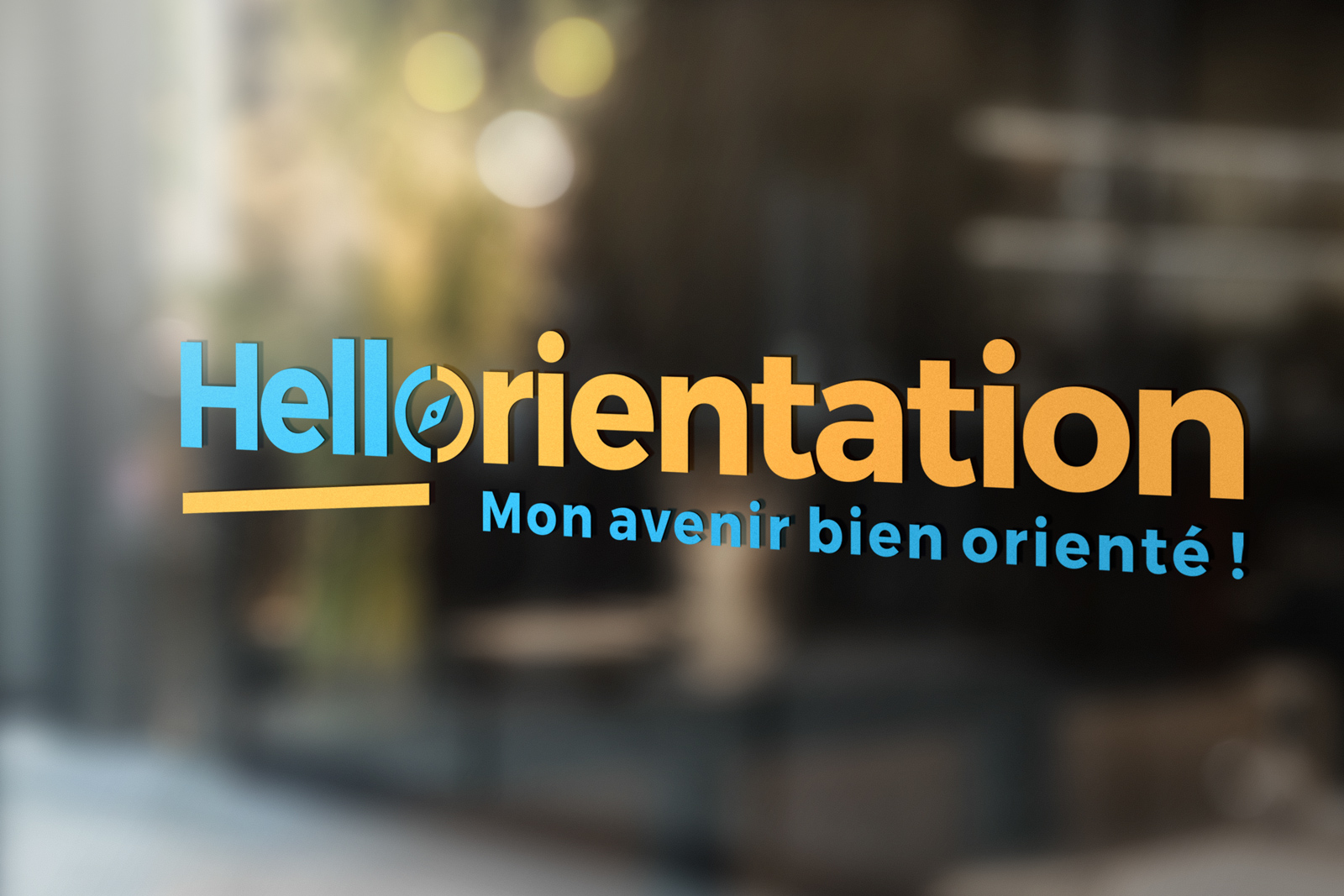Logo Hello orientation