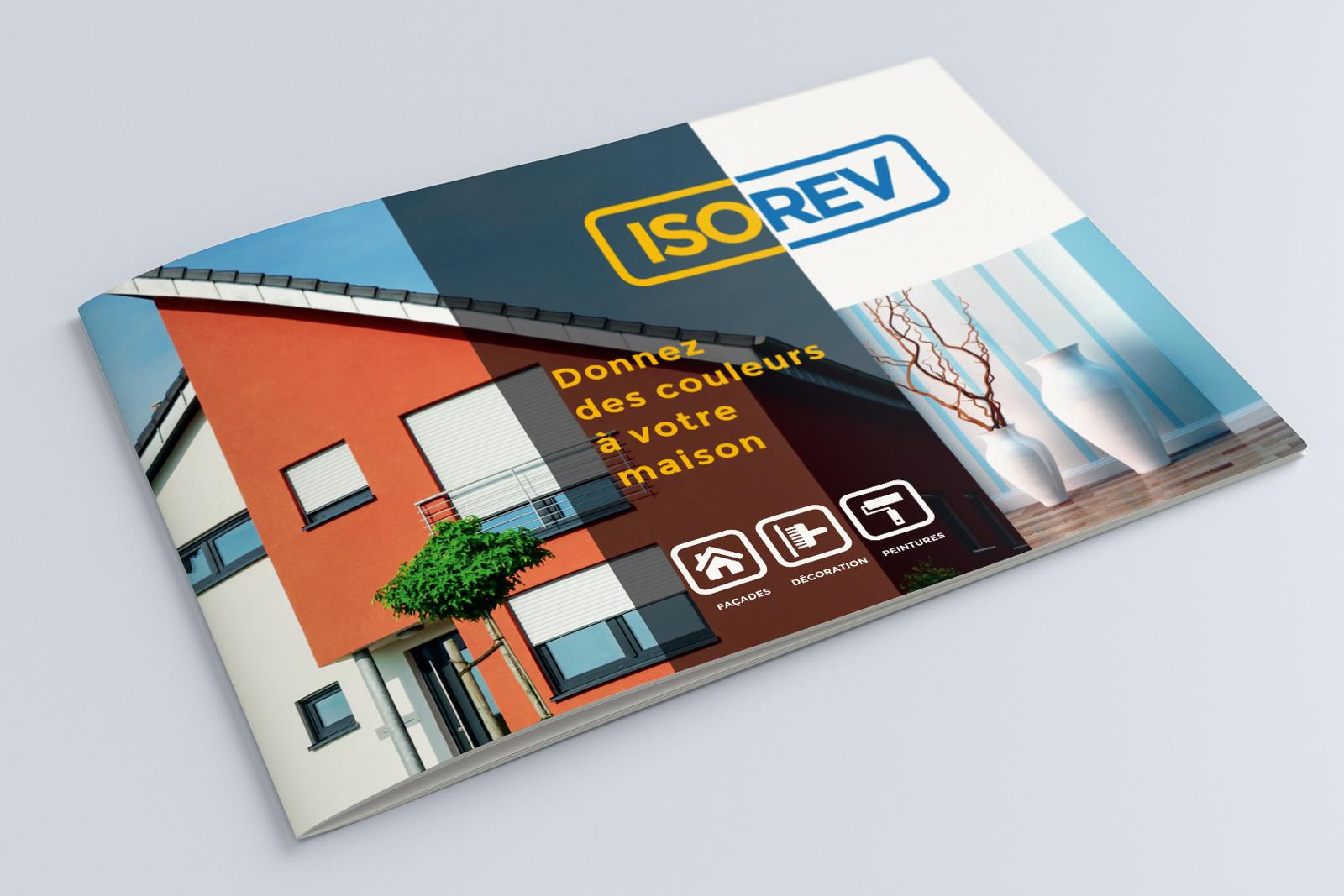 Plaquette publicitaire ISOREV