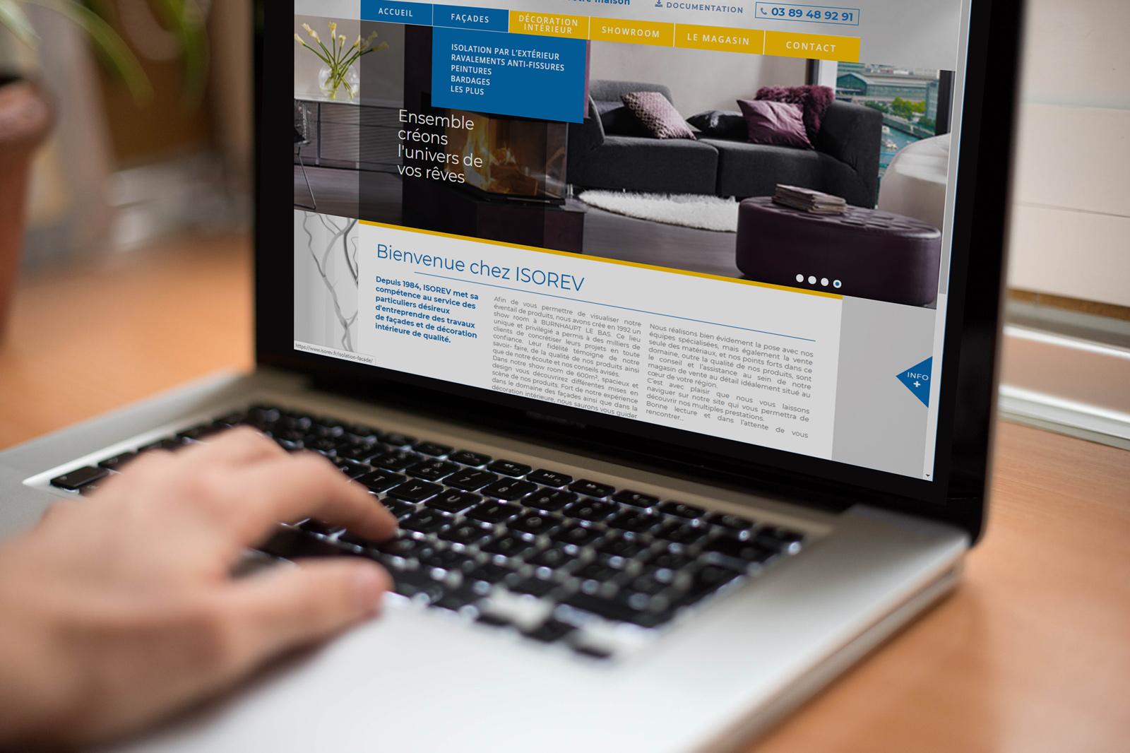 Site web ISOREV