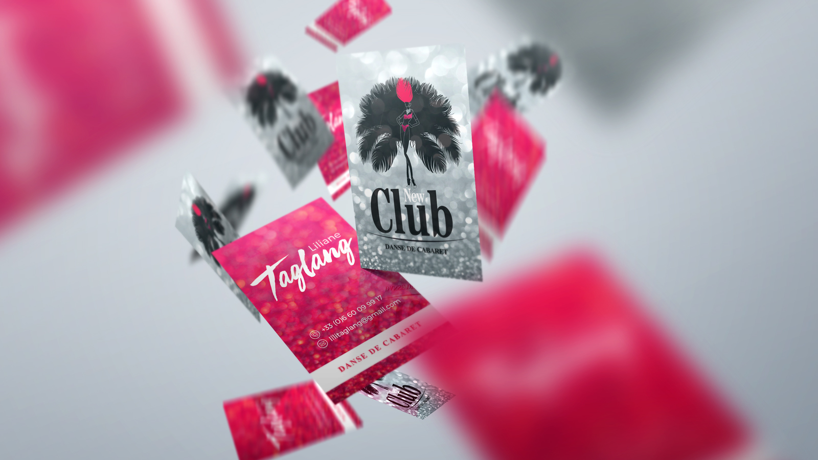 Carte de visite du Club de Dance New Club