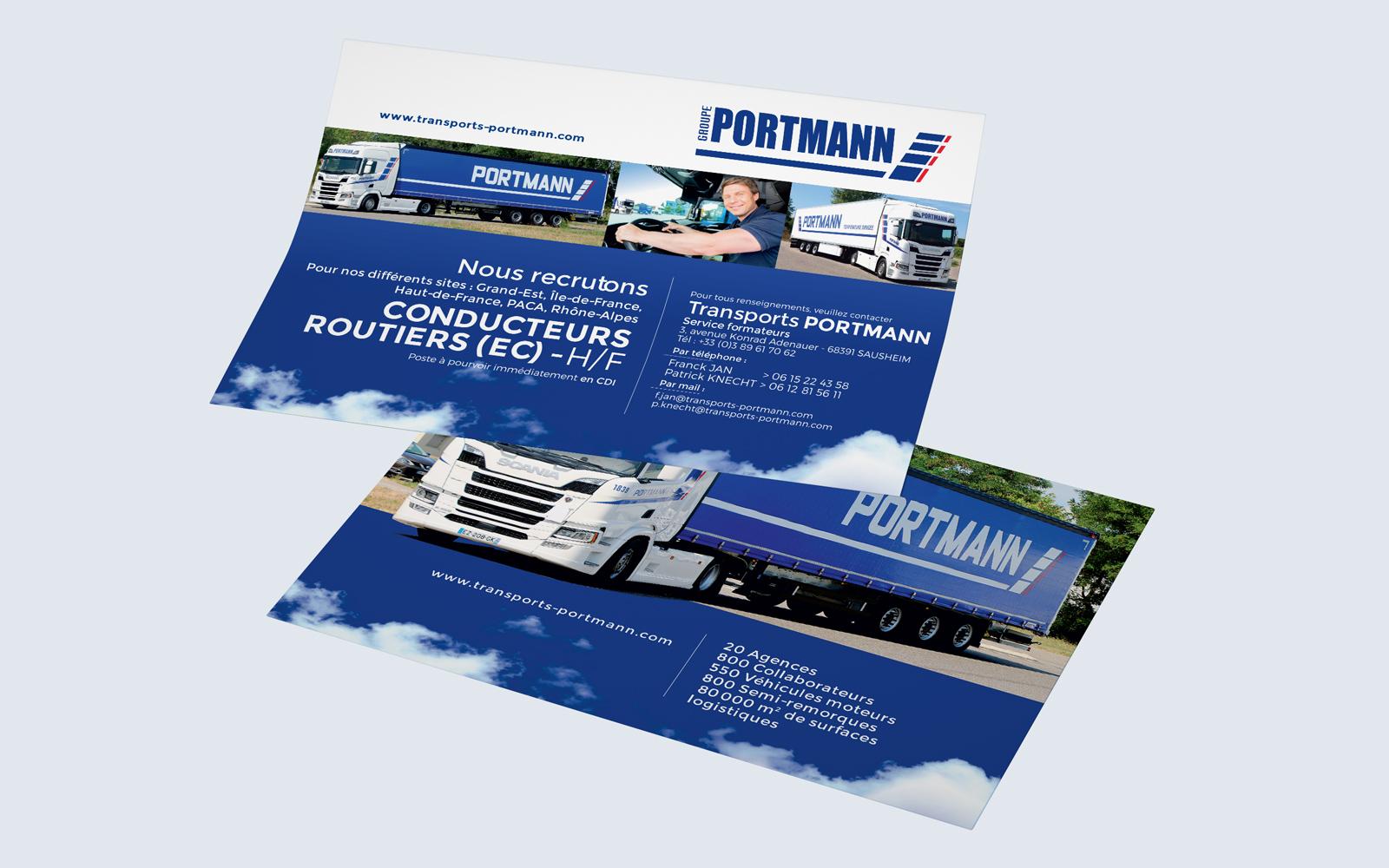 Flyer Transports Portmann