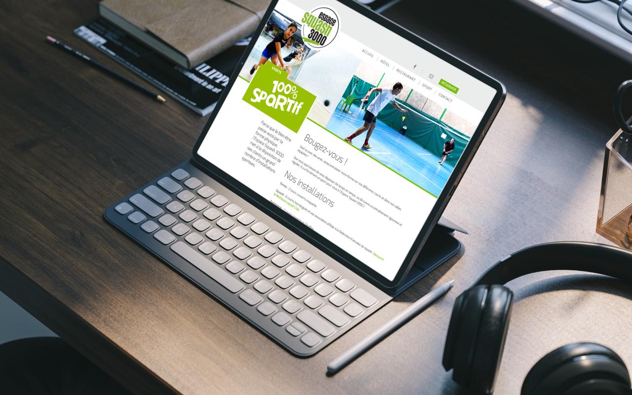 Site Web Squash 3000