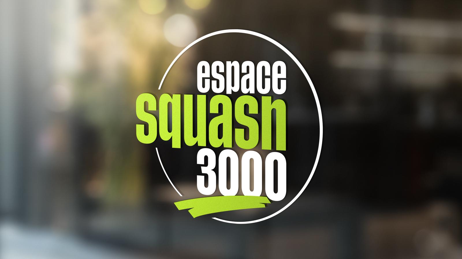 Nouveau Logo Espace Squash 3000