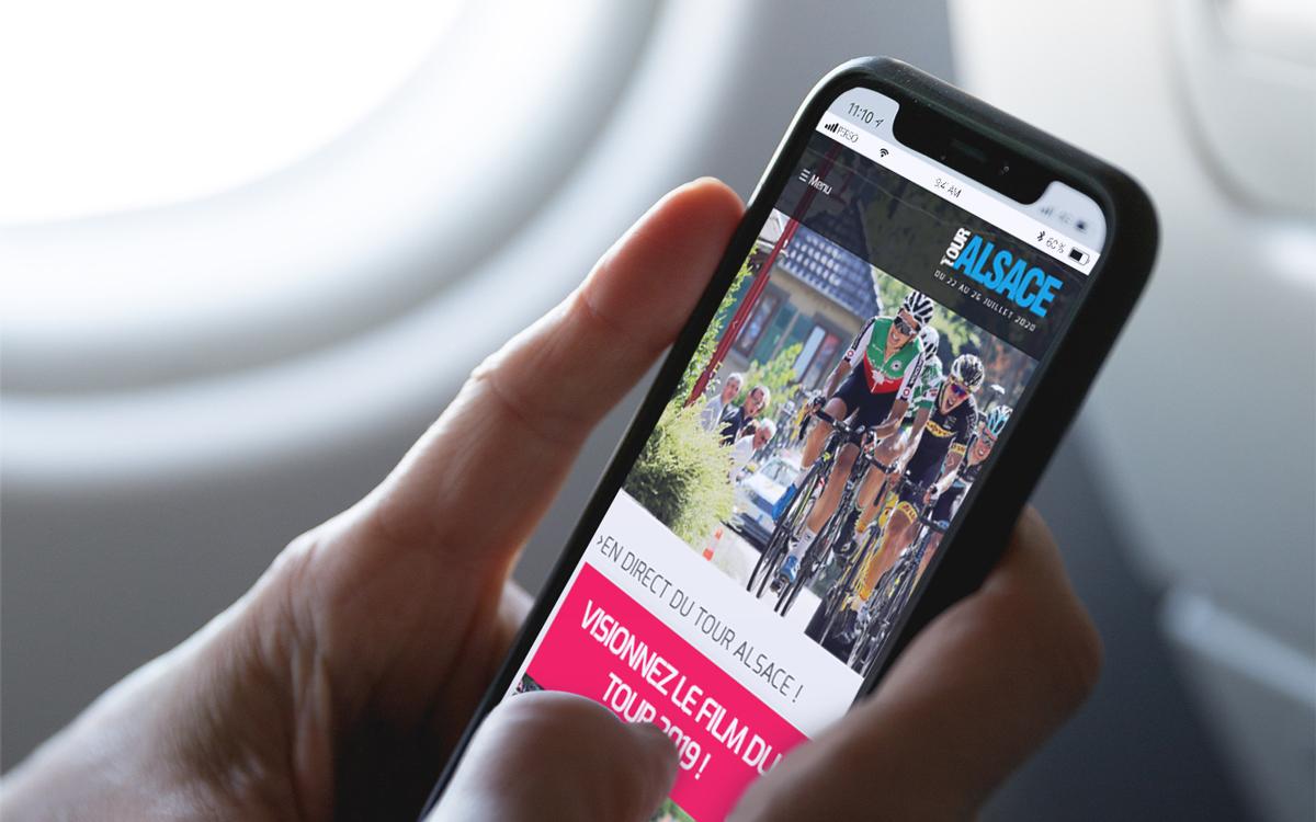 Site web Tour Alsace Responsive
