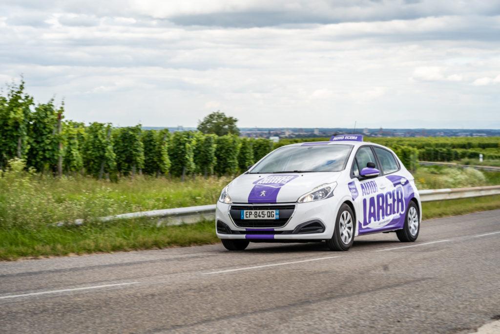 Création Marquage véhicule Auto-école LARGER